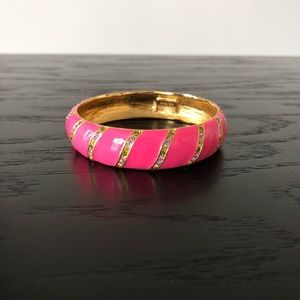 Kate Spade hot pink bangle.
